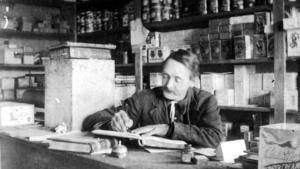 Henry Olsen, storekeeper at San Josef